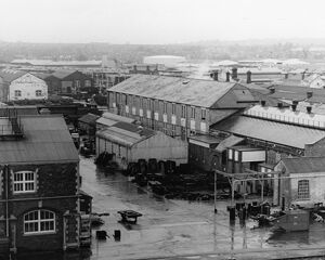 View of Swindon Works, c1980s