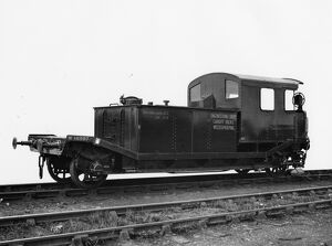 Weedkiling Train Tender for Cardiff Docks