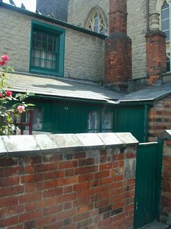 Back yard of No 34 Faringdon Road - present day