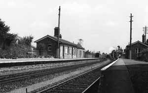 Yetminster Station, c. 1960